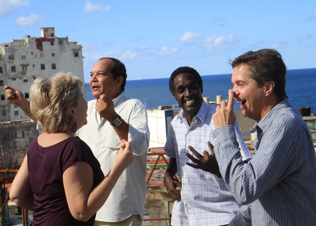 L'amitié selon Padura, à Cuba et dans le reste du monde