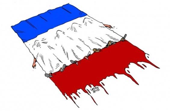 2015, année de la guerre en France