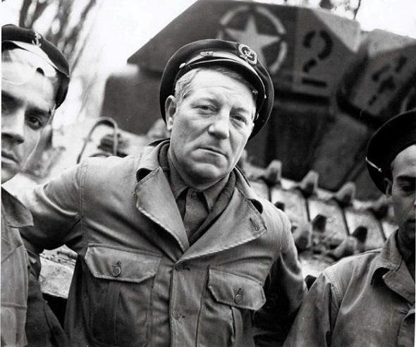 Feu la France de Jean Gabin et du général De Gaulle