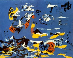moby-dick 1943 jackson pollock